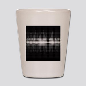 Sound Wave Shot Glass
