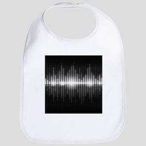 Sound Wave Bib