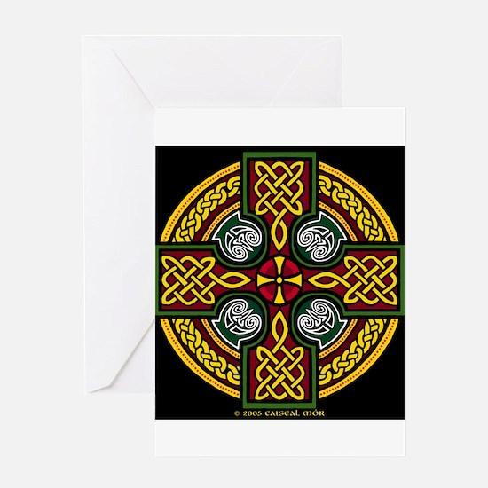 Unique Celtic cross Greeting Card