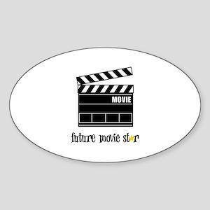 Future Movie Star Sticker