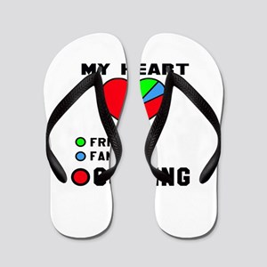 My Heart Friends, Family and Curling Flip Flops