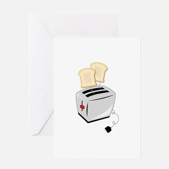 Toaster Greeting Cards