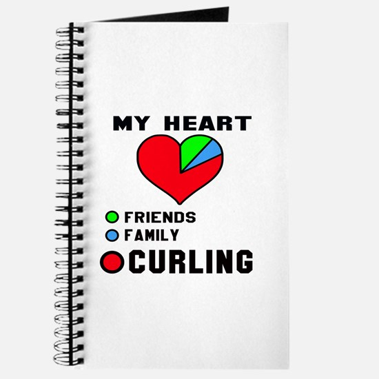 My Heart Friends, Family and Curling Journal