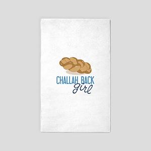 Challah Back Girl 3'x5' Area Rug