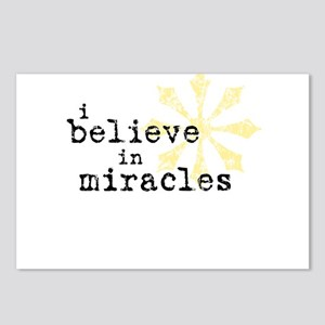 believemiracles-10x10 Postcards (Package of 8)