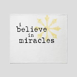 believemiracles-10x10 Throw Blanket