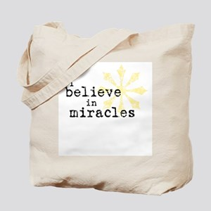 believemiracles-10x10.png Tote Bag