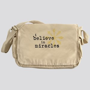 believemiracles-10x10 Messenger Bag