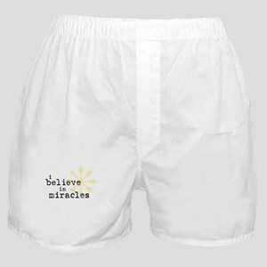 believemiracles-10x10.png Boxer Shorts