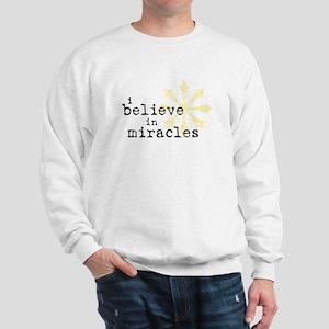 believemiracles-10x10 Sweatshirt