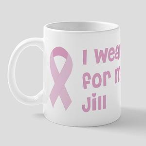 Wear pink for Jill Mug