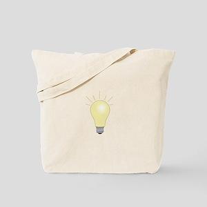 Light Bulb Tote Bag