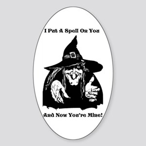 Witch Putting A Spell On You Sticker