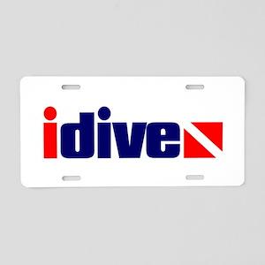 idive Aluminum License Plate