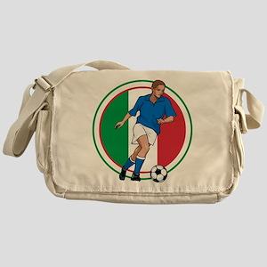Go Italy Italia Soccer Football Messenger Bag