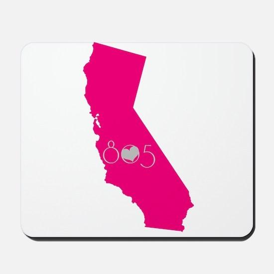 CALIFORNIA 805 Mousepad