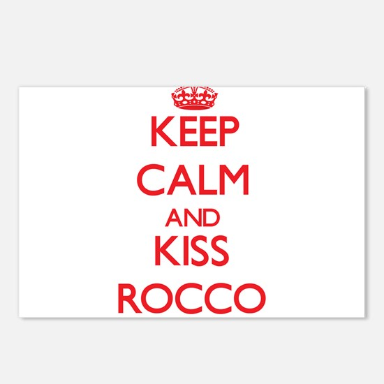 Keep Calm and Kiss Rocco Postcards (Package of 8)