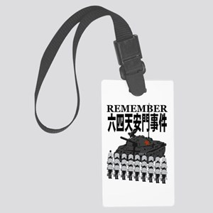 Tiananmen2 Large Luggage Tag