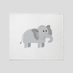 Elephant Throw Blanket