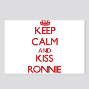 Keep Calm and Kiss Ronnie Postcards (Package of 8)
