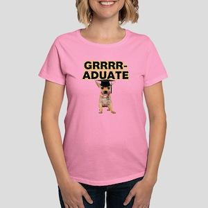 Graduation Chihuahua Women's Dark T-Shirt