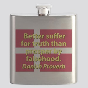 Better Suffer For Truth Flask