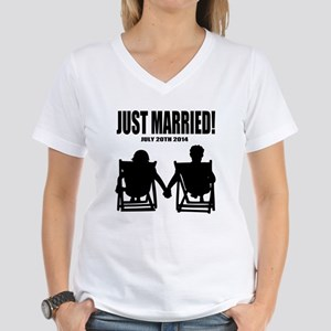 Just Married   Personalized wedding T-Shirt