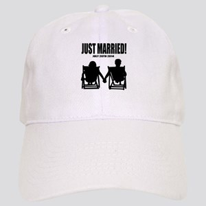 Just Married | Personalized wedding Baseball Cap