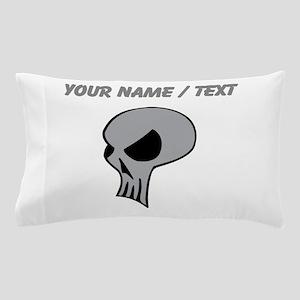 Custom Alien Skull Pillow Case