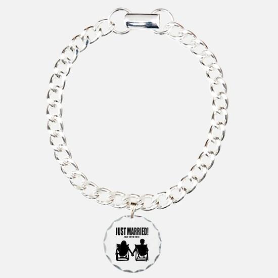 Just Married | Personalized wedding Bracelet