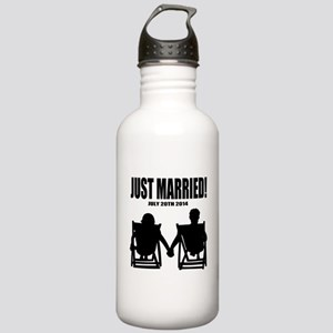 Just Married | Personalized wedding Water Bottle