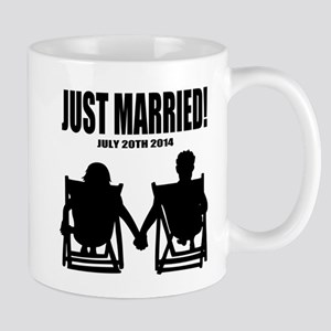 Just Married | Personalized wedding Mugs