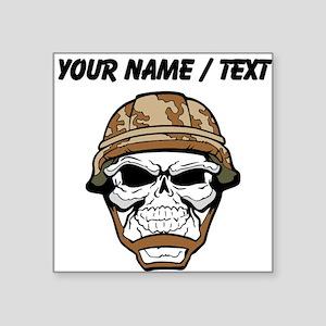 german military skull helmet stickers cafepress