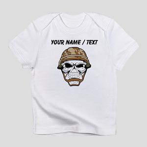 Custom Soldier Skull Infant T-Shirt