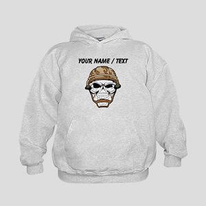Custom Soldier Skull Hoodie