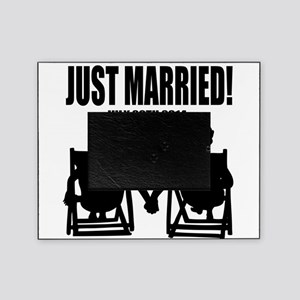 Just Married | Personalized wedding Picture Frame