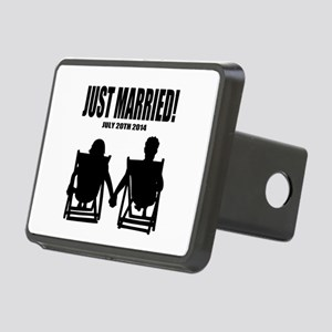 Just Married | Personalized wedding Hitch Cover