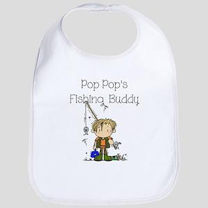 Pop Pop's Fishing Buddy Bib