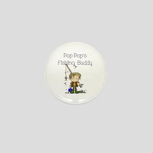 Pop Pop's Fishing Buddy Mini Button