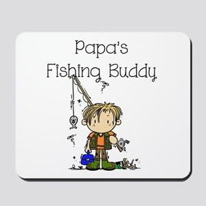 Papa's Fishing Buddy Mousepad