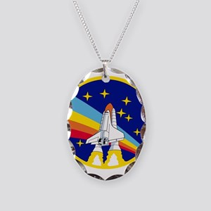 Rainbow Rocket Necklace
