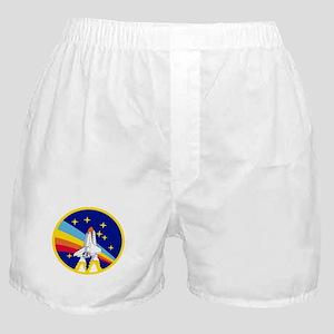 Rainbow Rocket Boxer Shorts
