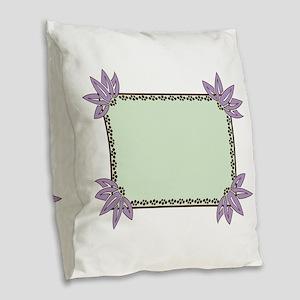 DreamFrame Burlap Throw Pillow