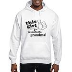 Promoted to Grandma Hoodie