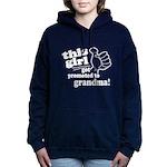 Promoted to Grandma Women's Hooded Sweatshirt