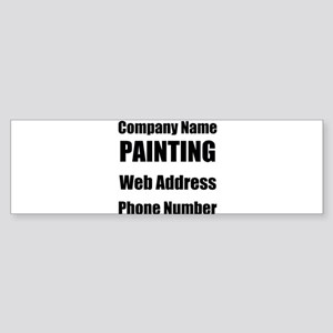 Painter Bumper Sticker
