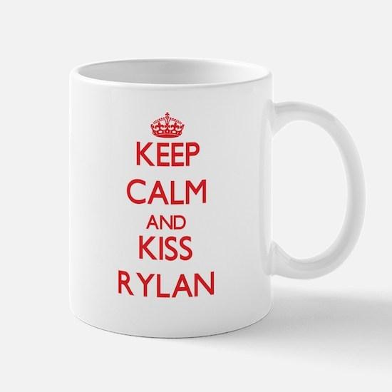 Keep Calm and Kiss Rylan Mugs
