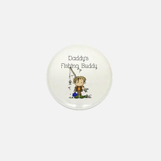 Daddy's Fishing Buddy Mini Button