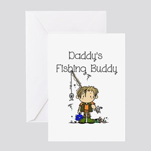 Daddy's Fishing Buddy Greeting Card