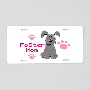 Foster Mom 111 Aluminum License Plate
